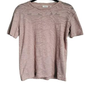 Aritzia Wilfred- Floral Lace - pink- size small